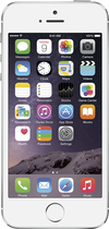Apple® - iPhone 5s 16GB Cell Phone - Pre-Owned - Silver