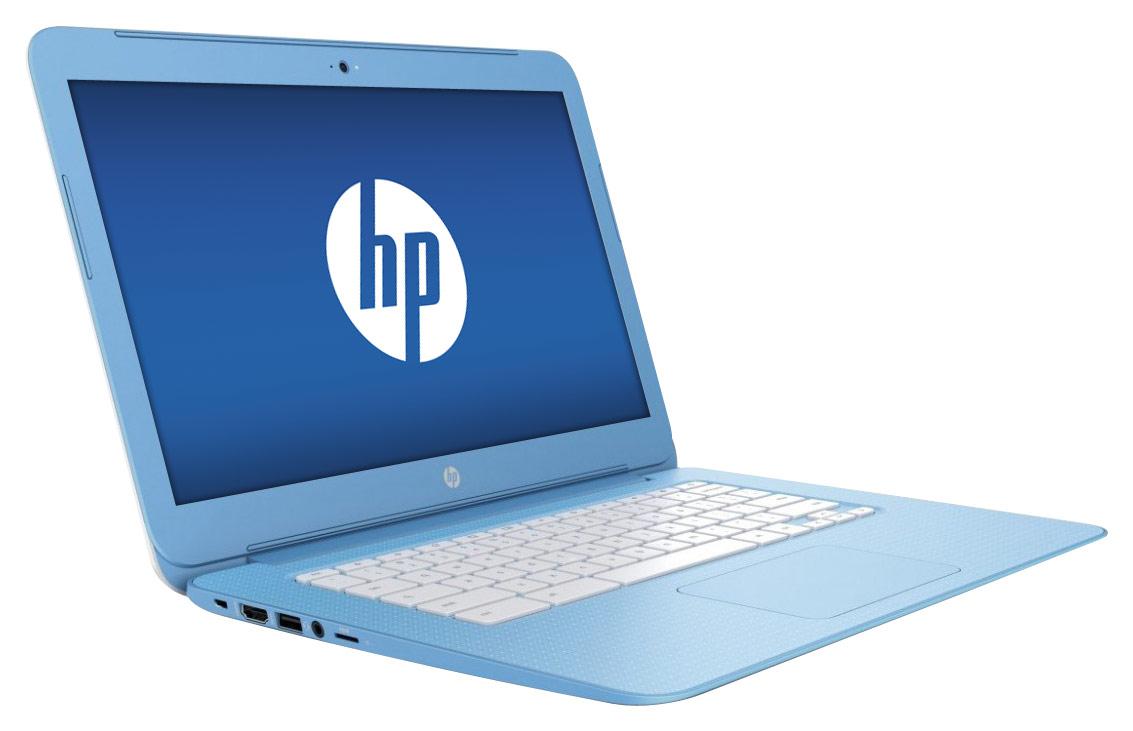 HP - 14 Chromebook - Intel Celeron - 4GB Memory - 16GB eMMC Flash Memory - Sky Blue
