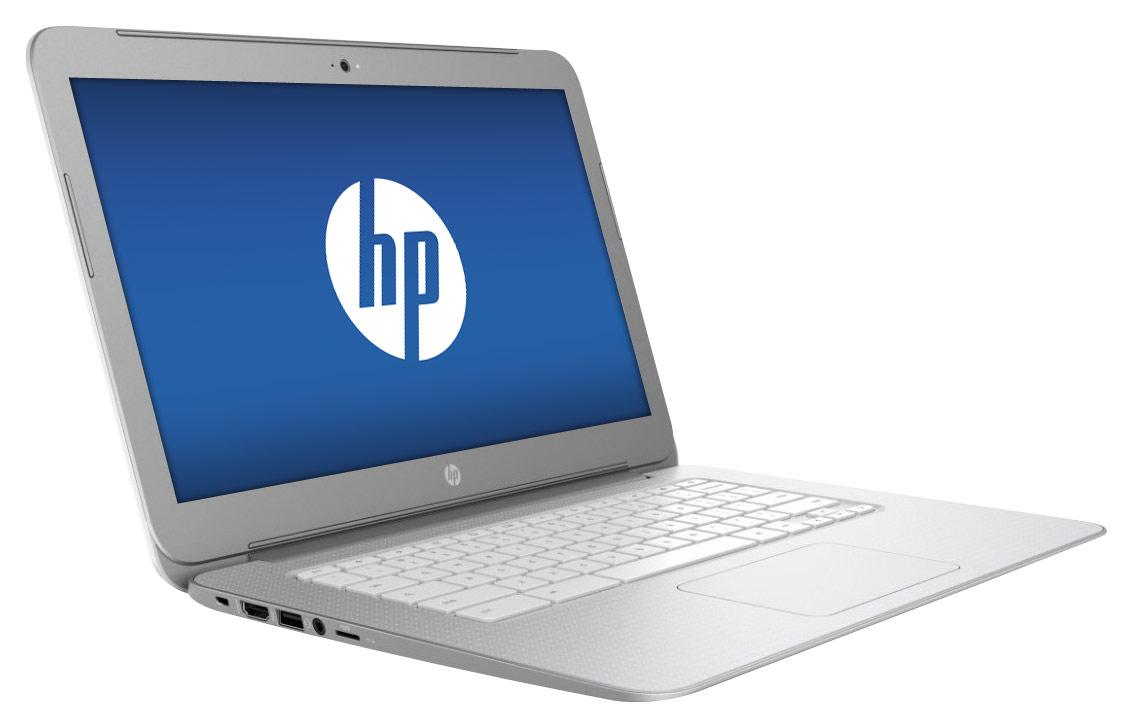 HP - 14 Chromebook - Intel Celeron - 4GB Memory - 16GB eMMC Flash Memory - Silver