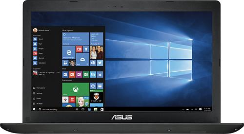 Asus - Geek Squad Certified Refurbished 15.6 Laptop - Intel Pentium - 4GB Memory - 750GB Hard Drive - Black