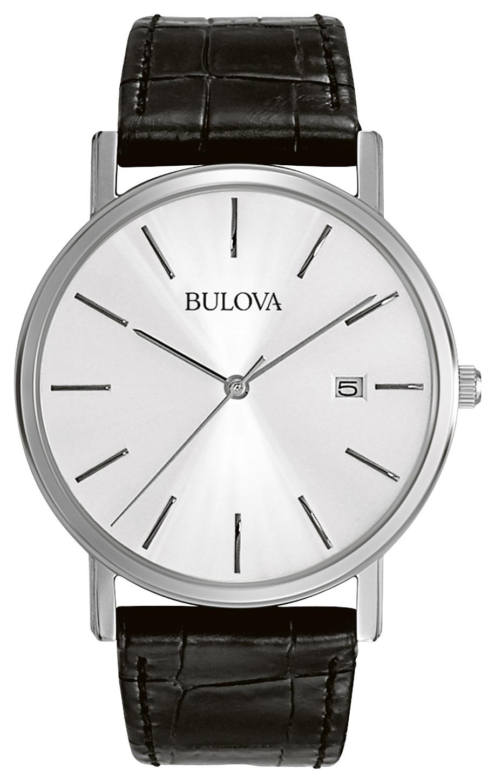 Bulova - Men's Analog Watch - Black