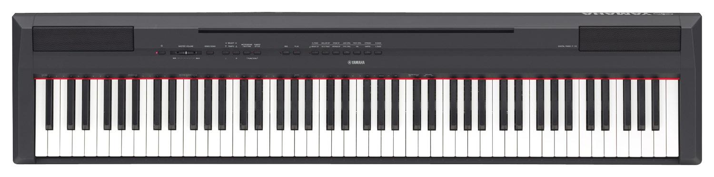 Yamaha - Full-Size Keyboard with 88 Velocity-Sensitive Keys - Black