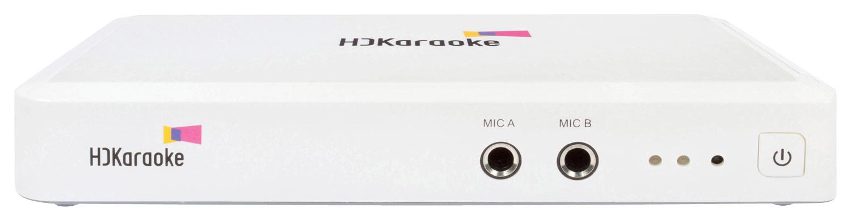 HDKaraoke - Box 2.0 Karaoke System - White