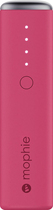 Mophie - Power Reserve 1x Portable Charger - Pink 4660202