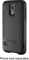 OtterBox - Commuter Series Case for Samsung Galaxy S 5 Cell Phones - Black