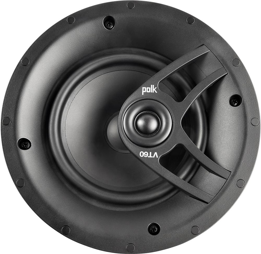 """Polk Audio - 6.5"""" 2-Way In-Ceiling Speaker (Each) - White"""