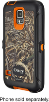 OtterBox - Real Tree Defender Series Case for Samsung Galaxy S 5 Cell Phones - Max 4HD Blaze Orange