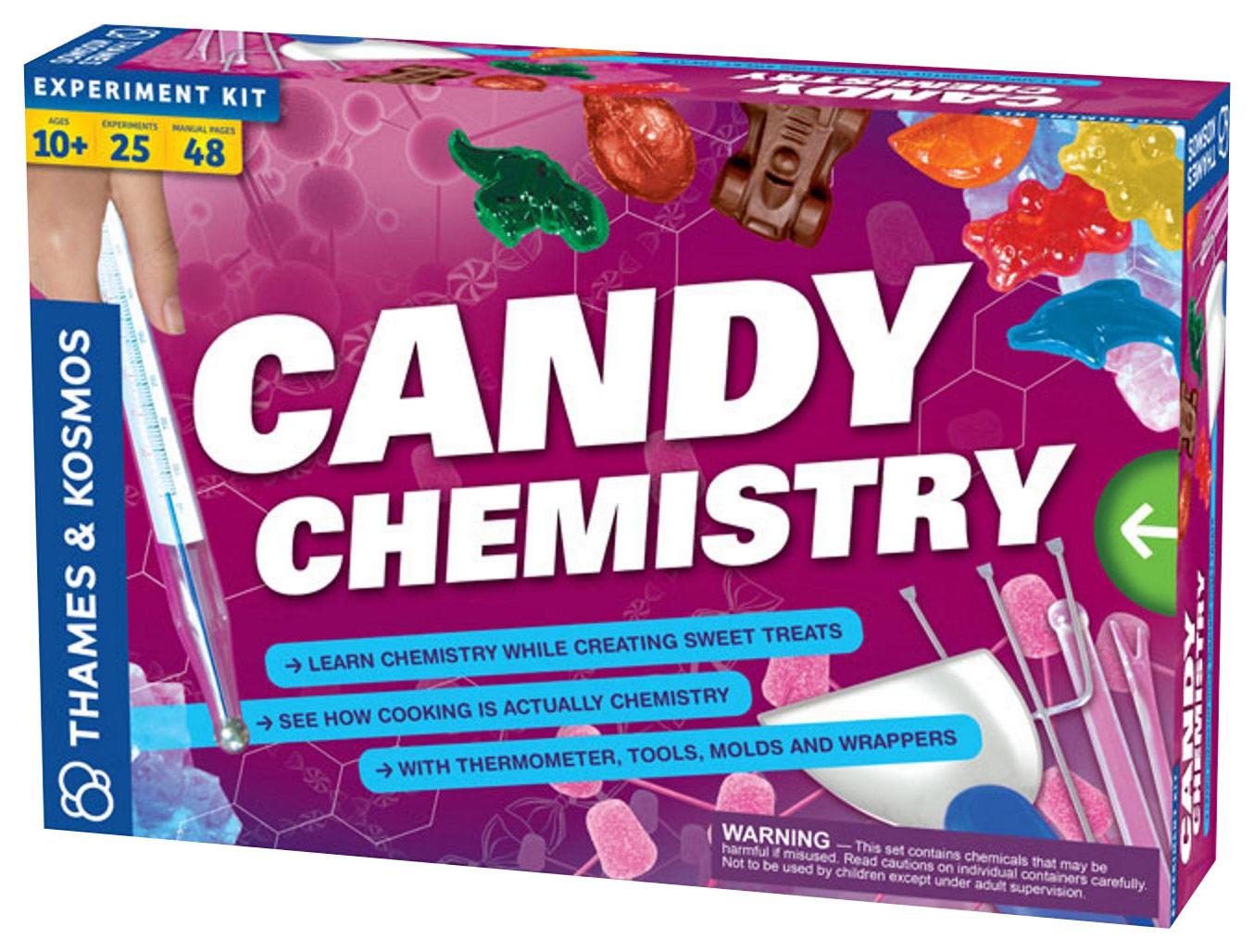 Thames & Kosmos - Candy Chemistry Kit - Multi 4670809