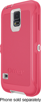 OtterBox - Defender Series Case for Samsung Galaxy S 5 Cell Phones - Neon Rose
