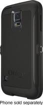 OtterBox - Defender Series Case for Samsung Galaxy S 5 Cell Phones - Black