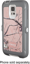 OtterBox - Real Tree Defender Series Case for Samsung Galaxy S 5 Cell Phones - AP Pink