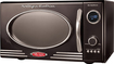 Nostalgia Electrics - Retro Series 0.9 Cu. Ft. Compact Microwave - Black