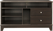 "Insignia™ - TV Stand With Gaming Nook for Flat-Panel TVs Up to 46"" - Espresso"