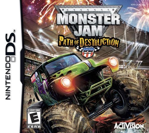 Monster Jam: Path of Destruction - Nintendo DS
