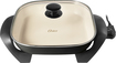 "Oster - DuraCeramic 12"" x 12"" Electric Skillet - Charcoal"