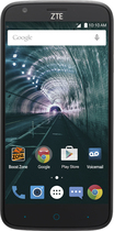 Boost Mobile - Zte Warp 7 Lte With 16gb Memory Prepaid Cell Phone - Black