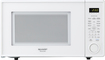 Sharp - 1.1 Cu. Ft. Mid-Size Microwave - White