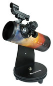 Celestron - COSMOS FirstScope Newtonian Reflector Telescope - Black