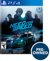 Need For Speed - Pre-owned - Playstation 4
