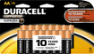Duracell - AA Batteries (16-Pack) - Black