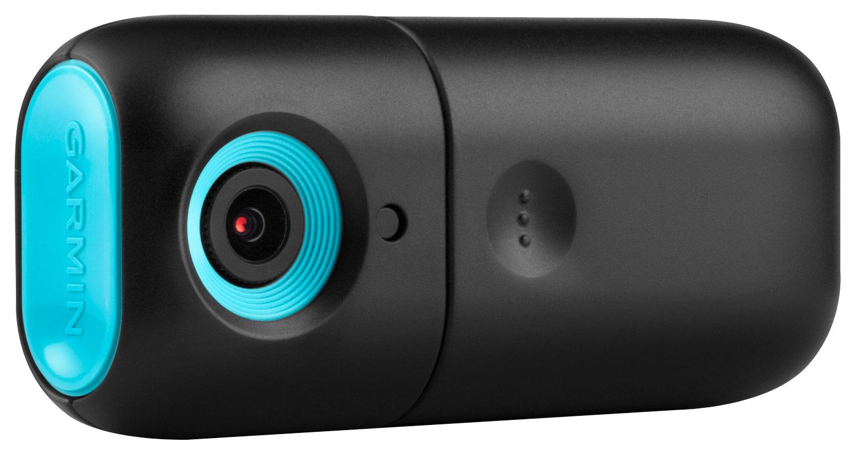Garmin - babyCam Wireless In-Vehicle Video Monitor - Black/Blue