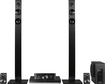 Panasonic - 1000W 5.1-Ch. 3D / Smart Blu-ray Home Theater System - Black