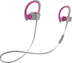 Beats By Dr. Dre - Geek Squad Certified Refurbished Powerbeats2 Wireless Earbud Headphones - Pink/gray