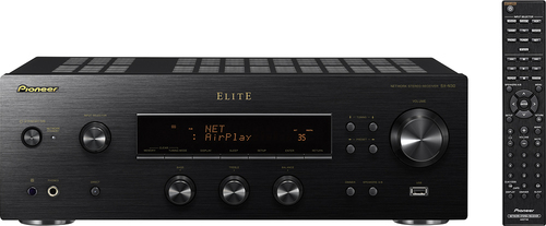 Pioneer Elite - 220W 2.0-Ch. Network-Ready Stereo Receiver - Black