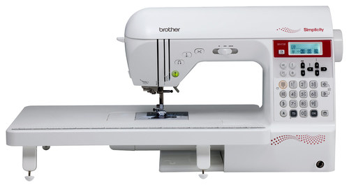 Brother Simplicity 138-Stitch Sewing and Quilting Machine White SB4138