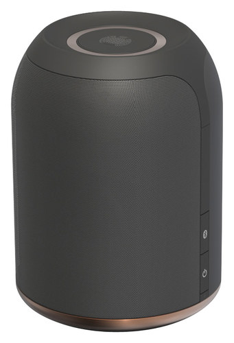 Ministry of Sound Audio M Plus Bluetooth and Wi-Fi Speaker System Charcoal/Copper MMWF-CHCO-000-UA1