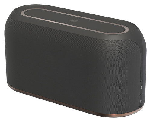Ministry of Sound Audio L Plus Bluetooth and Wi-Fi Speaker Charcoal/Copper MLWF-CHCO-000-UA1