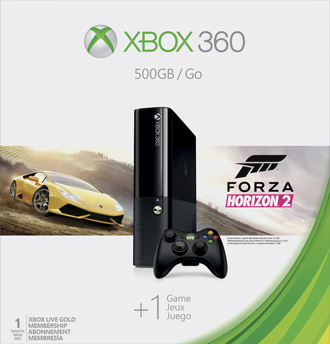 Microsoft - Xbox 360 500GB Console Forza Horizon 2 Bundle
