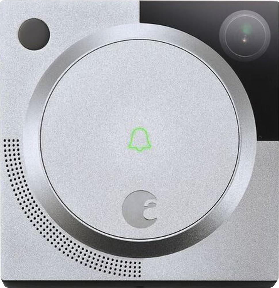 August - Wi-fi Smart Video Doorbell - Silver 4707500