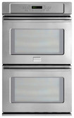 "Frigidaire - Professional 27"" Built-In Double Electric Convection Wall Oven - Stainless-Steel"
