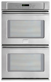 "Frigidaire - Professional 30"" Built-In Double Electric Convection Wall Oven - Stainless-Steel"