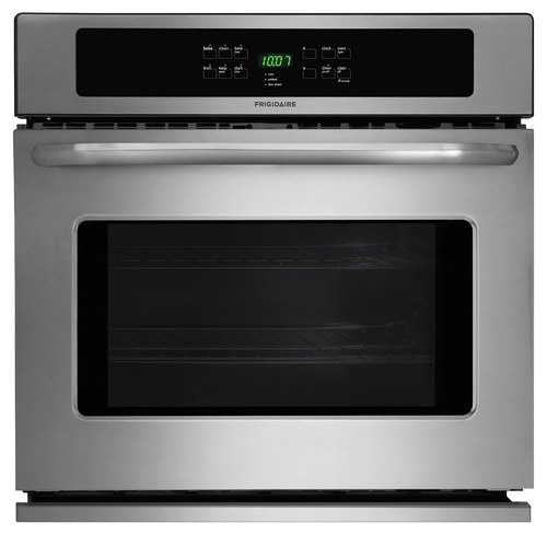 Frigidaire - 30 Built-In Single Electric Wall Oven - Stainless Steel