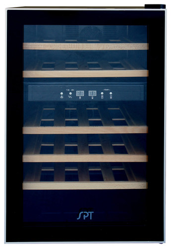 SPT - 24-Bottle Wine Cooler - Black
