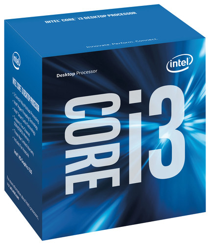 Intel® - Core™ i3-6100 3.7GHz Processor - Silver
