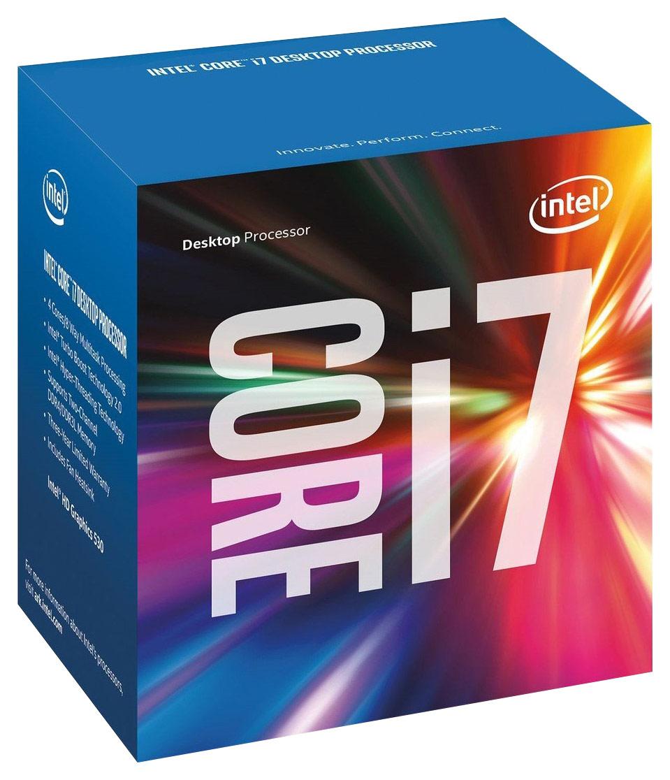 Intel® - Core i7-6700 3.4GHz Processor - Silver