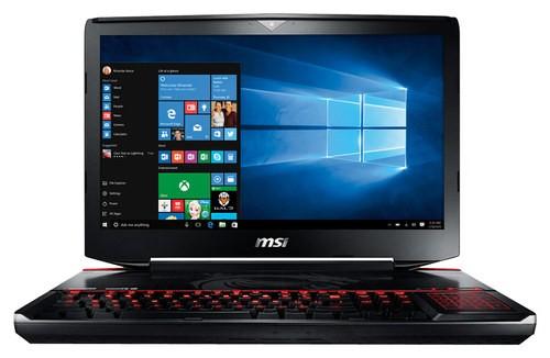 MSI - GT80S Titan 18.4 Laptop - Intel Core i7 - 24GB Memory - 1TB Hard Drive + 256GB Solid State Drive - Aluminum Black