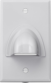 Insignia™ - Cable Pass-Through Wall Plate - White
