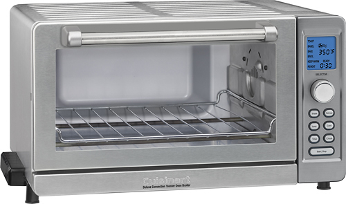 Deluxe Convection Toaster Oven Broiler Color: Silver TOB-135