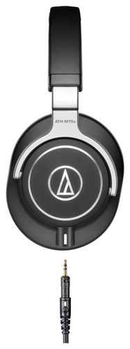 Audio-Technica - ATH-M70x Monitor Headphones - Black