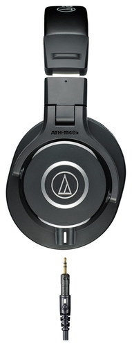 Audio-Technica - ATH-M40x Monitor Headphones - Black
