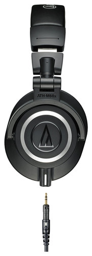Audio-Technica - ATH-M50x Monitor Headphones - Black
