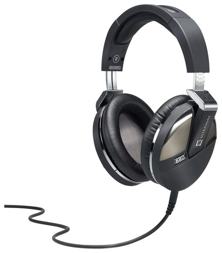 Ultrasone - Performance Series 880 Over-the-Ear Headphones - Black/Gunmetal (Black/Grey)