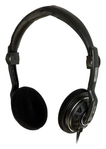 Ultrasone ULR HFI15G Series HFI-15G On-Ear Headphones Black