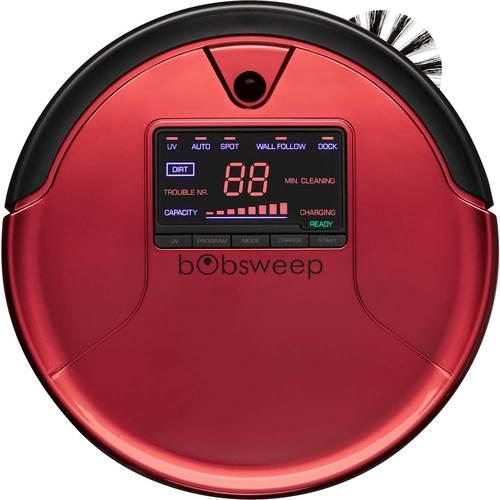 bObsweep - PetHair Robotic Vacuum - Rouge