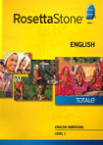 Rosetta Stone Version 4 TOTALe: English (American) Level 1 - Mac|Windows
