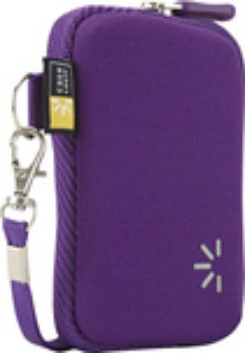 Case Logic - Point-and-Shoot Digital Camera Case - Purple